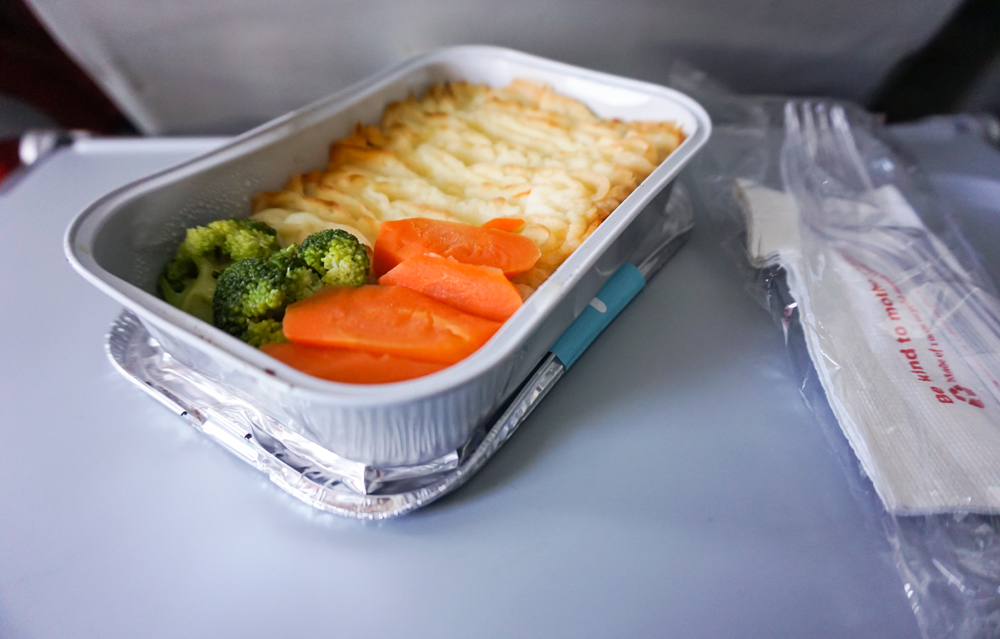 AirAsia Chicken Pie Menu