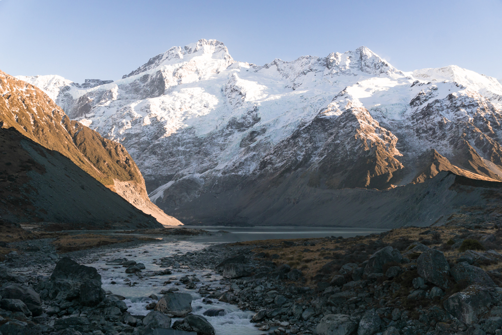 The Hooker Valley Track, Mount Cook
