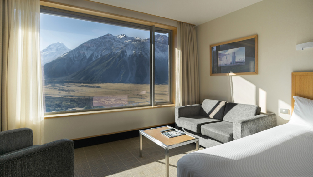 Premium Room The Hermitage Hotel Mount Cook Accommodation