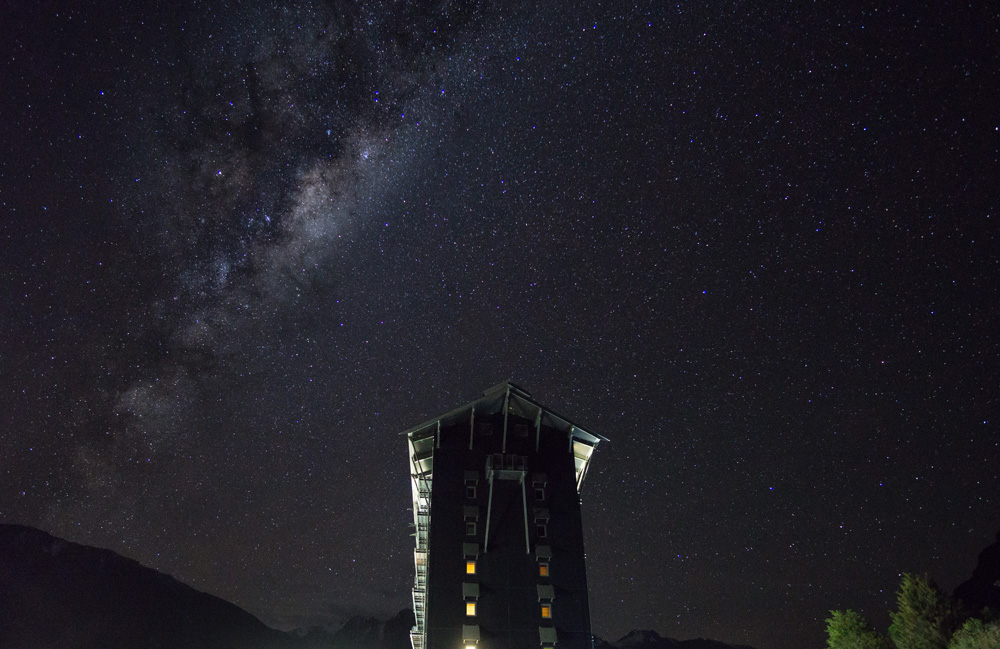 The Hermitage Hotel Astrophotography